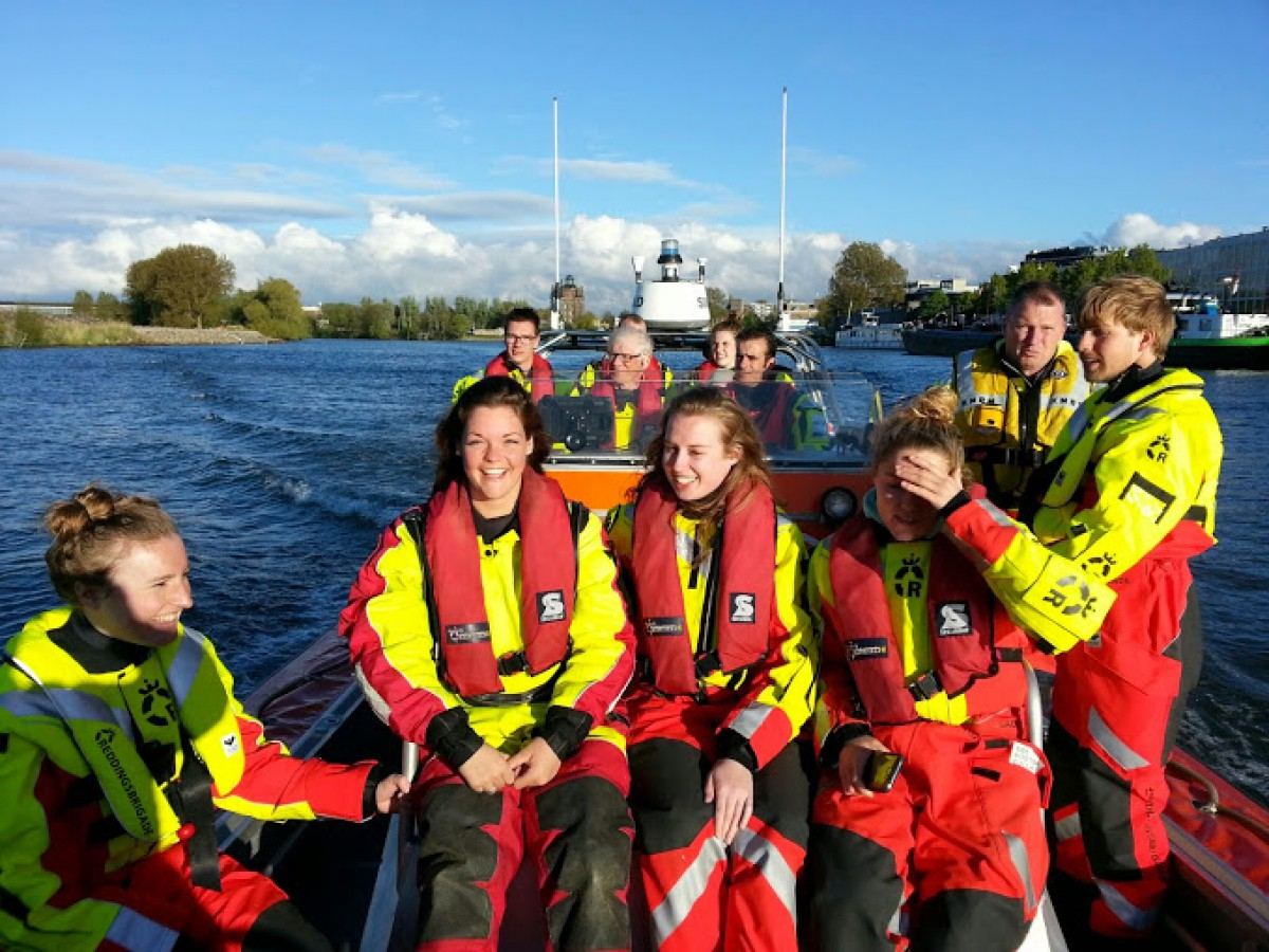 KNRM Lifeguards in Dordrecht