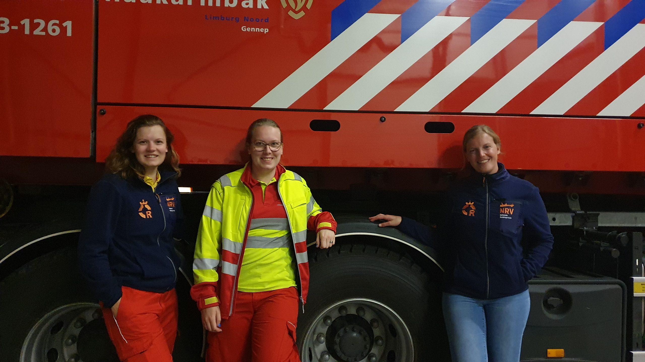 Standby in Brandweerkazerne Gennep Dordtse Reddingsbrigade